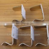 metal table skirt clip,metal clips