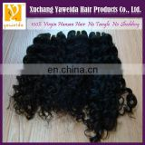 2014 fashion style kinky curl hair extension 100% virgin raw unprocesse virgin indian hair weaving