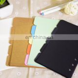 5 Subject Notebook Tab Insertable Dividers 5 Multicolor Tabs 1 Set