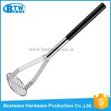 Stainless Steel Round Faced Potato Masher
