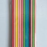 Premium Biodegradable Paper Straws | Solid Color Straws | 7.75 Inches | FDA Approved