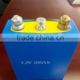 2000cycle 3.2v 100ah punch battery, high power 100ah lifepo4 punch battery cell 3.2v                                                                         Quality Choice