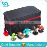 Deluxe And Durable Nylon Toy Storage Bag With Shoulder Strap/Toy Storage Organizer With Bins