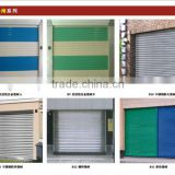 Guangzhou OKM rolling up doors with density of frp material