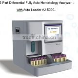 5 Part Differential Fully Auto Hematology Analyzer with Auto Loader AJ-5220