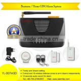 2014 newest professional laser security alarm system wireless security home security alarm system YL-007M3D