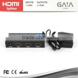 China supplier 2 Port HDMI switch Splitter 1 in 2 Out Hdmi Full Hd 1080p 3D
