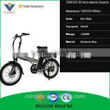 250W Electric Bike 20 inch Electric Bicycle Folding Electric Bike Accept OEM China