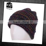 Fashionable design high quality custom fleece beanie hat pattern fleece hat making for sale