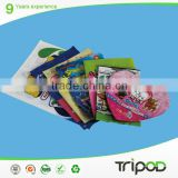 plastic packaging bag for present,composite bag for close store,boutique plastic bag