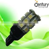 7440 7443 12V 27pcs SMD5050 lamp back led car light auto led lamp vehicles led bulb R/Y/B/G/W/WW