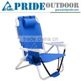 Outdoor Beach Folding Lounge Chair Folding Portable Backpack Beach Chair                                                                         Quality Choice