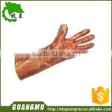 Disposable Long PE Glove For veterinary use or Disposable Veterinary GLove