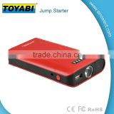 Car Start Power Power Bank with LED Light 7500mAh Car Jump Starter Multifunction start power bank with booster battery