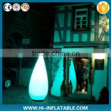 Romantic party decoration inflatable candle with led light for event,party,club decoration