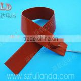 Customize 3.7v 5v 7.4v 9v 12v 24v 36v 48v 60v silicone heating band element with CE RoHS certification