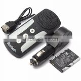V4.0 Universal Multipoint Cell Phone Handsfree Bluetooth Car Kit Handsfree Speaker for iphone/HTC/galaxy