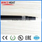 self-regulating heat trace 220 volt silicone pipe heating cable/wire ce