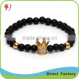 Natural stone bead bracelet Men Unakite Buddha bracelet Lucky Stone jewelry gift for women