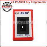 Good feedback v3.19 ak90 for bmw key programmer,best price for bmw key programming tool with ak90+ cables in stock