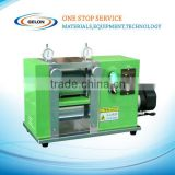 Lithium ion battery continuous pressing machine/rolling machine for electrode/battery R&D equipments