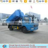 Dongfeng trash truck hook type hook arm type garbage truck