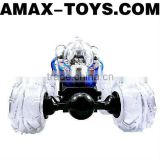 rsc-1091663 rc stunt car Hot selling stunning remote control tumbling stunt car with flashing lights and dynamic music