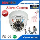 Wholesale Cheap megapixel Dome Alarm IP POE Camera metal case Vandalproof wall-mounted Dome AHD Camera