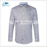 custom top quality business mens dress shirt wool plaid shirts for business man                                                                         Quality Choice