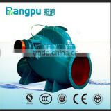 horiozntal double suction split casing centrifugal high volume water pump for power plant