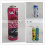 Empty Aerosol Tin Cans with Valves and Actuators