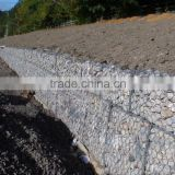 China Alibaba Supplier galvanized coated gabion retaining wall/gabion wire mesh/gabion baskets for sale