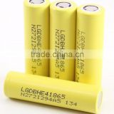 High drain rechargeable 18650 battery lg he4 18650 battery 2500mah wholesale authentic lg he4