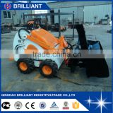 BI400 Skid Steer Wheel Loader with Snow Blower/Rotary Tiller/Hydraulic Breaker