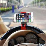 Universal Car Steering Wheel Holder Bracket For iPhone5s Samsung Galaxy S4 S3 Nokia HTC Mobile Phone Car Stand Stent