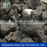 Hot sale natural stone black lava stone