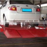 4 post car parking lift, 4 columns stacker car lift with CE, Good quality low price car park lift