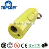 Multipurpose Mini USB Rechargeable Keyring Torch for Promotion