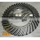 Spiral bevel gear drive axle 504311E1/E2 504324E1/E2 For XGMA XG953 wheel loader parts 45A0005/06 45A0007/08