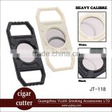 Hot selling Practical Plastic largest diameter Cigar cutter cigar guillotine