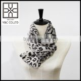 2015 New design fashion Leopard Print Faux Fur Shawl                                                                                                         Supplier's Choice