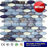 New model luxury design mma octagon marble floor mosaic tiles