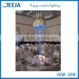 2016 table top decoration big elegant fashion Large table top crystal chandelier flower stands