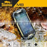 waterproof IP68 SNOPOW M8 quad camera phone front 5mp back 13mp china android phone in india