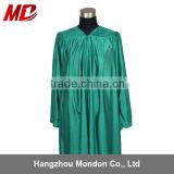 Choir robe - adult church robe shiny kelly green