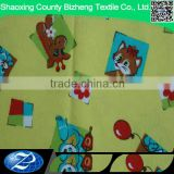 Lovely cotton flannel cartoon print fabric for wholesale comforter sets bedding