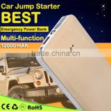 Factory A6 8000mAh Multi-function Car Jump Starter For Smartphone iPhone iPad