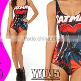 Best Price Quality Women Sexy One Piece Swimsuit Galaxy Swimsuit Print Bodycon Bathing Suit Beachwear