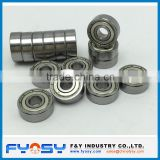 inch size deep groove ball bearing RLS12 ZZ, RLS12-2RS 38.1X82.55X19.05MM RLS bearing