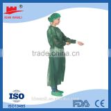 china OEM high quality and good service certificate CE ISO FDA dressing pack cheap hot disposable surgical gown sterile